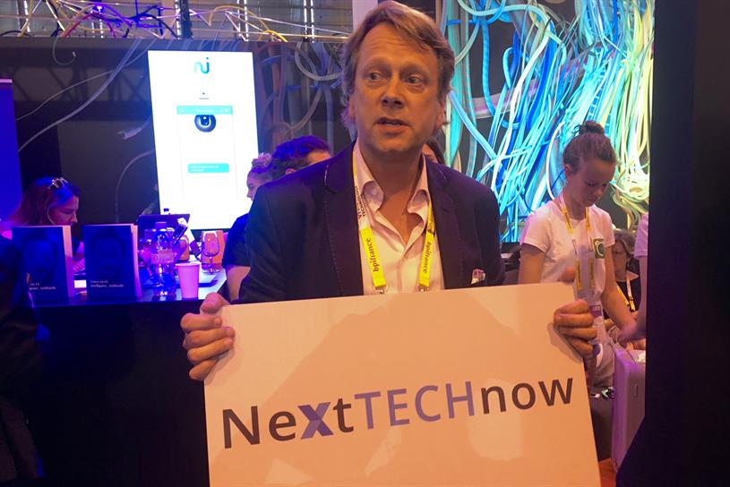Jim Kite, global lead for NextTechNow, in his role as a tour guide