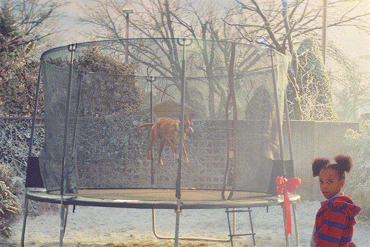John Lewis' 'Buster the boxer' Christmas ad, created by Adam & Eve/DDB