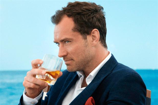 Jude Law: starred in Johnnie Walker film created by Anomaly New York