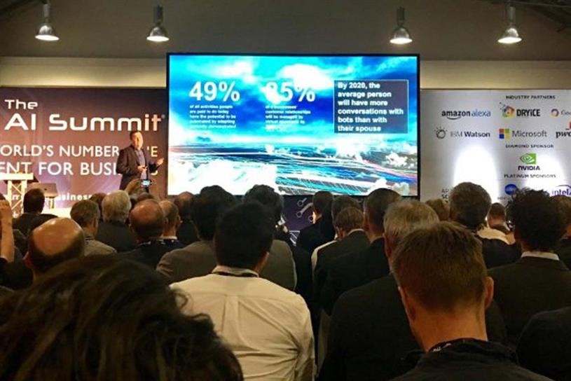 AI Summit 2017: took place at the Business Design Centre, London