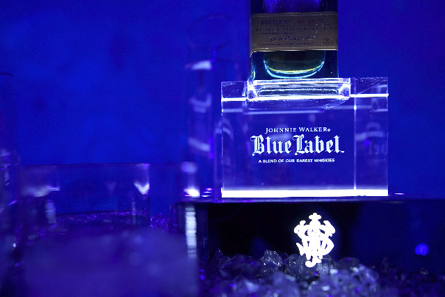 Johnnie Walker Blue Label: sits in the Diageo Reserve business unit