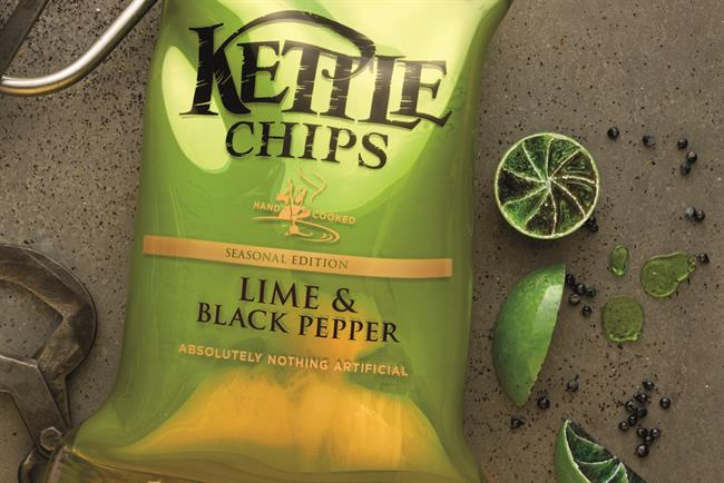 Kettle Chips: 101 created the brand's 'lovingly crafted' print campaign in 2014