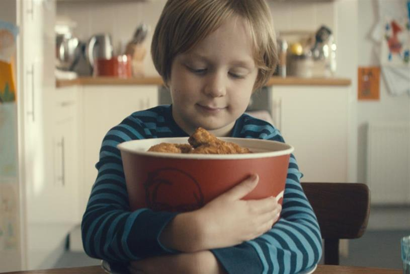 """KFC's 2014 ad: """"The boy who learned to share"""" by BBH"""