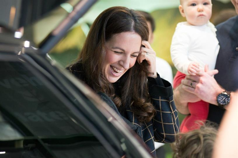 Natalie Lipton was surprised with a personalised Discovery Sport