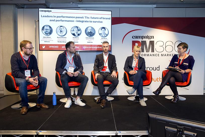 Performance Marketing 360: Wilson, Harrison, McLaren group digital director Rob Bloom, Gemmell and Harris