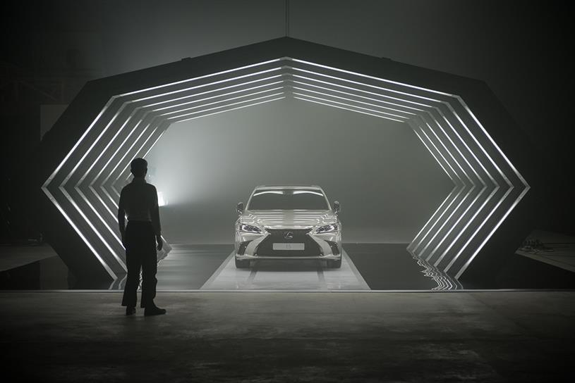 Lexus: script was entirely 'written' by AI