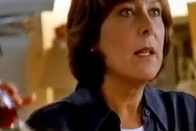 Lynda Bellingham: the actress appeared in 42 TV ads for Oxo