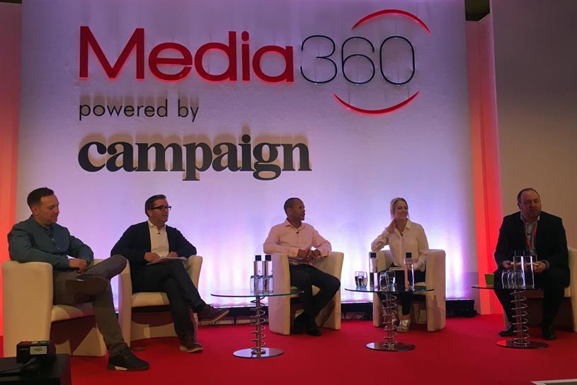 Panel (L-R): Bozeat, Murphy, Carter, Oakeshott and Gideon Spanier, Campaign's global head of media