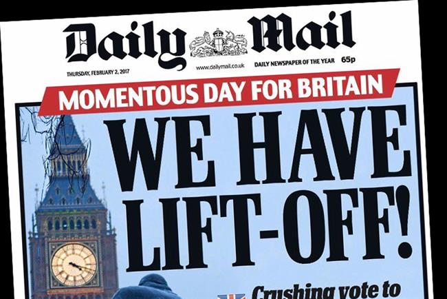 Shares in Daily Mail owner soar after positive interims
