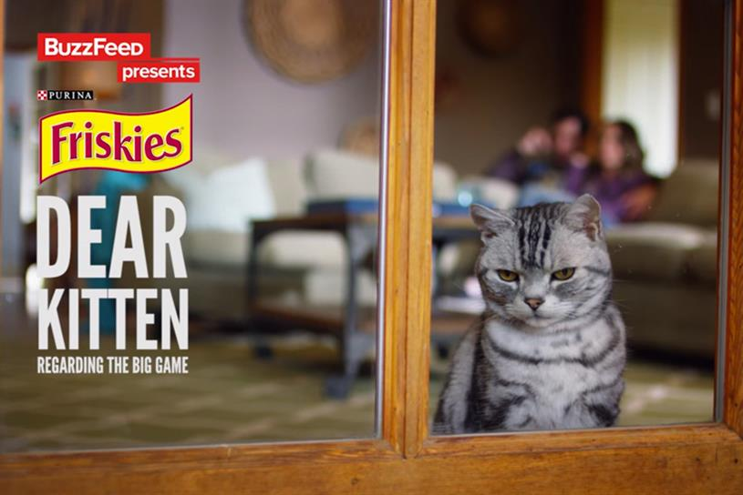 BuzzFeed and Friskies: showing life from a cat's point of view