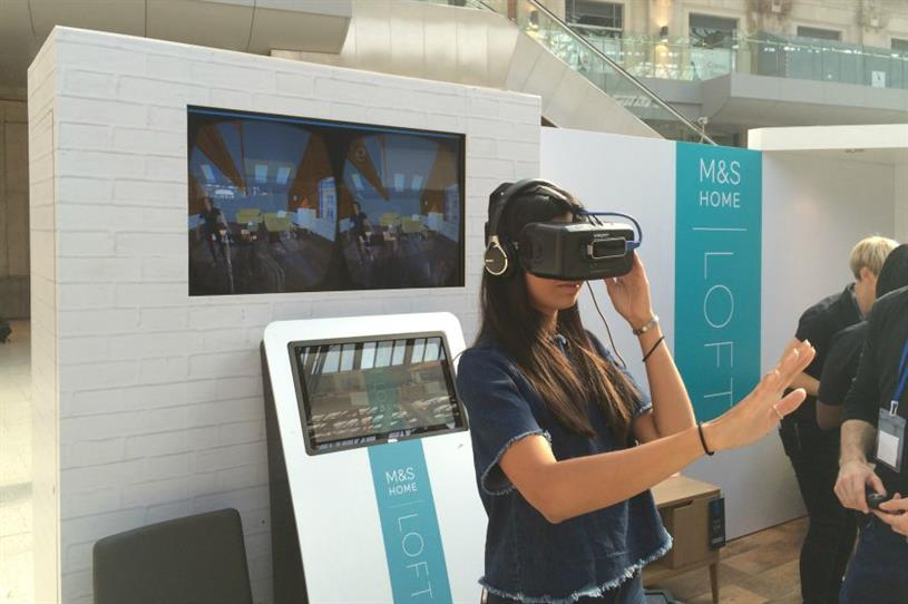 The experience employs Oculus Rift and Leap Motion