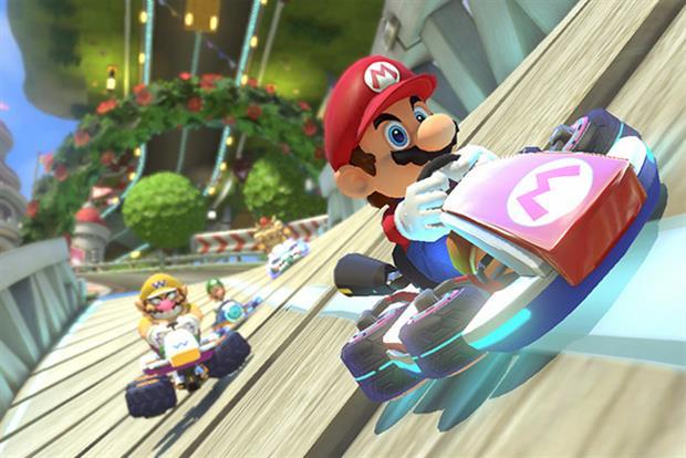 Nintendo: creates Super Mario and Mario Kart games
