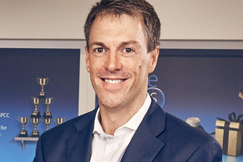 Mark Evans: the chief executive of O2