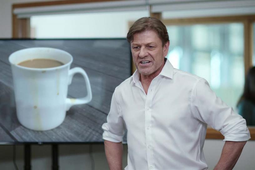 Sean Bean: starred in Yorkshire Tea ad by Lucky Generals last year