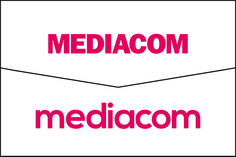 MediaCom: new logo retains pink colour but introduces fresh font