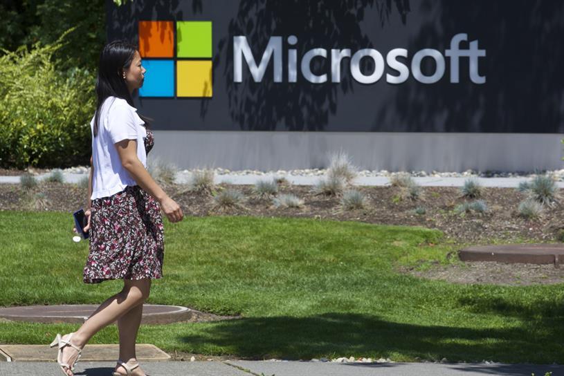 Microsoft's campus in Redmond, Washington