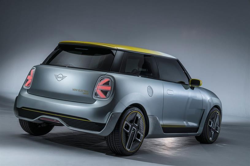Mini's concept design for its upcoming Electric marque (Picture: AutoCar)