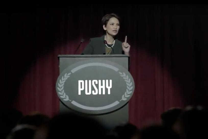 Pantene is calling for the ban on words like pushy to describe women