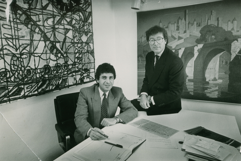 Charles and Maurice Saatchi both made the list of adland 'game-changers'