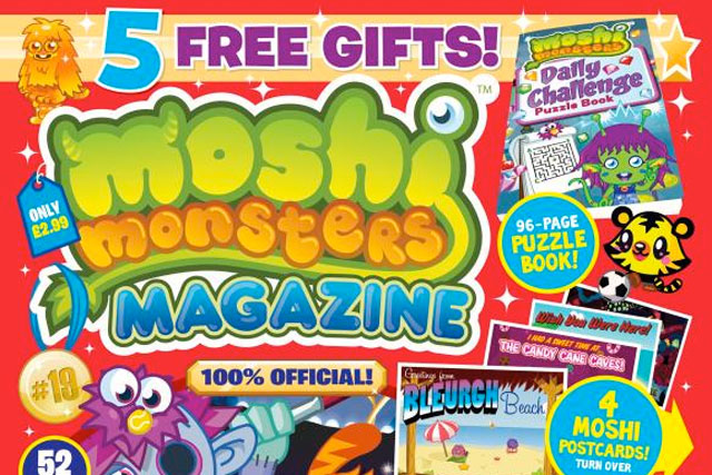 Moshi Monsters: the popular game's magazine
