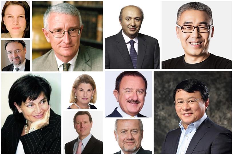 Clockwise from top left: Seligman, Hood, Farahat, Li, Shong, Sol (top), Quarta, Susman (top), Aigrain, Riccardi and Richardson