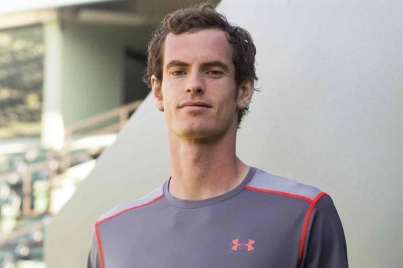 Andy Murray signs four-year partnership with Under Armour