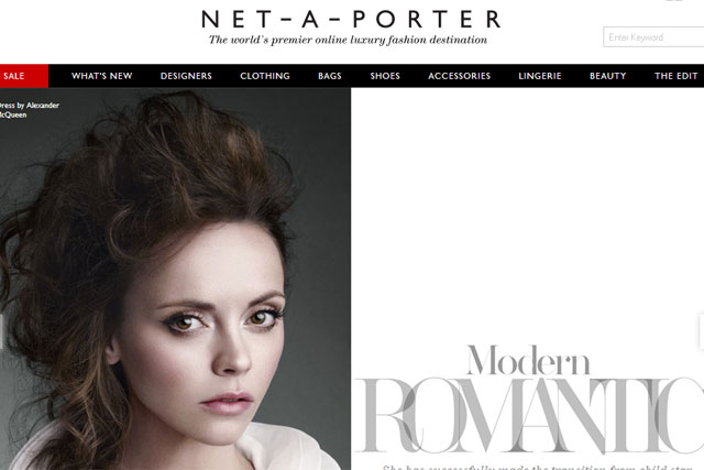 Net-a-Porter: adds its opposition to proposed online sales tax