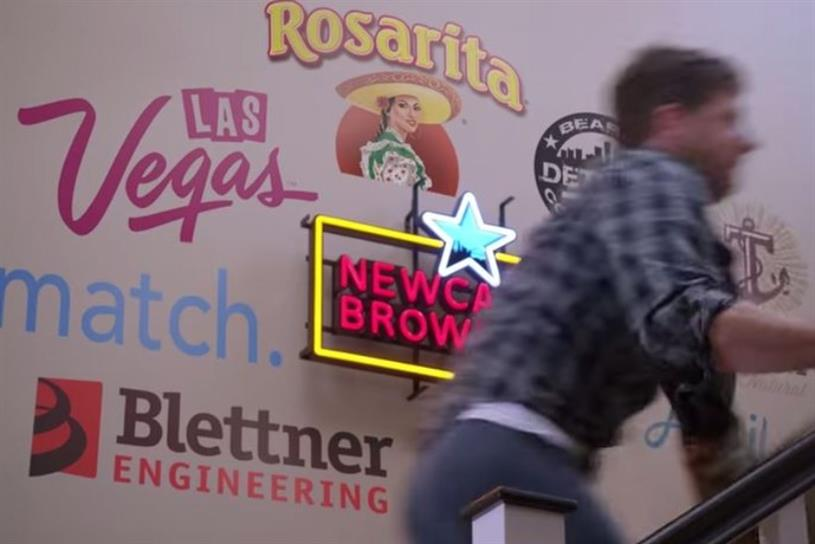 Newcastle Brown Ale created an ad based on sharing economy principles