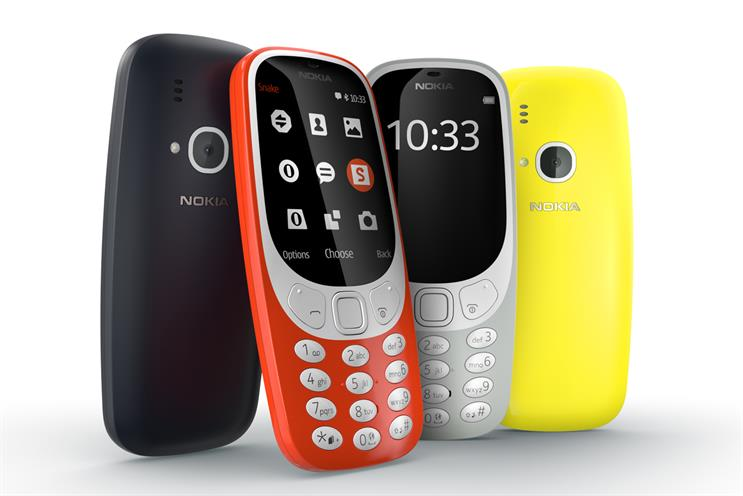 Nokia 3310: relaunched in 2017