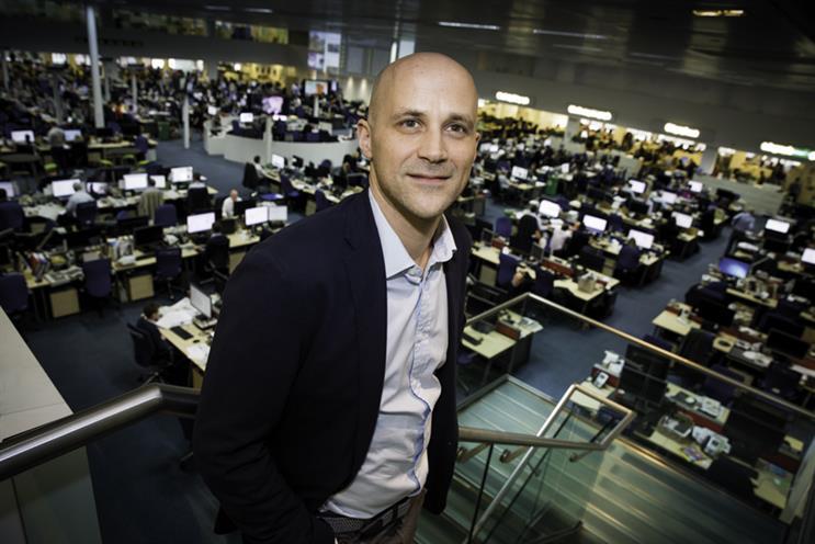 Nick Hugh: the new chief executive at Telegraph Media Group