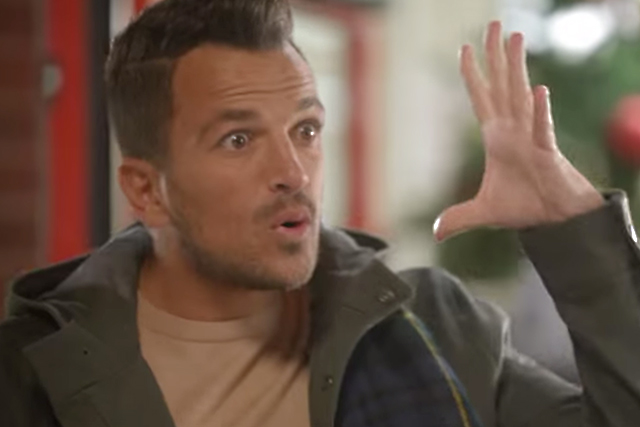 Peter Andre steals the top spot for Iceland once again