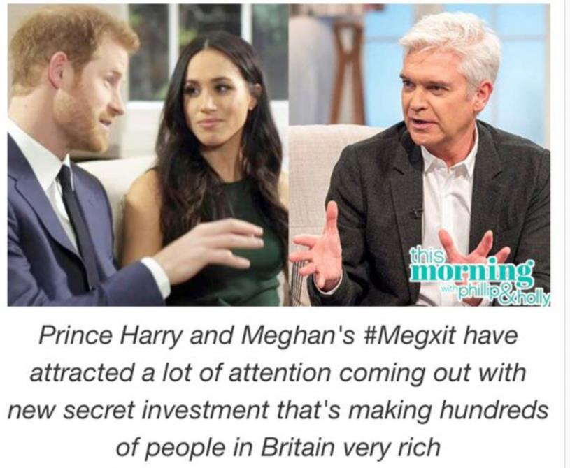 Scam: ads making false claims about Duke and Duchess have persisted on online platforms