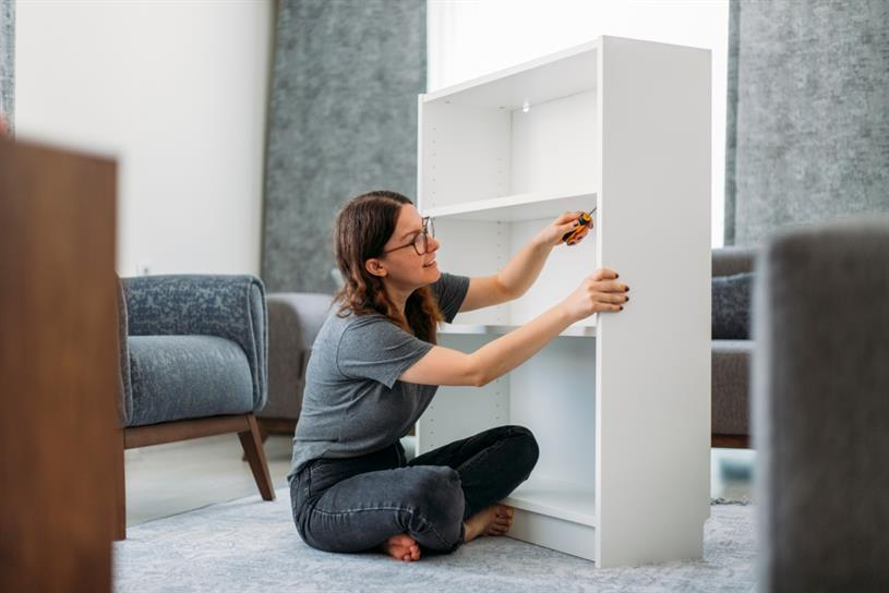 Ikea: the fun bit is taking it apart (hsyncoban/Getty Images)