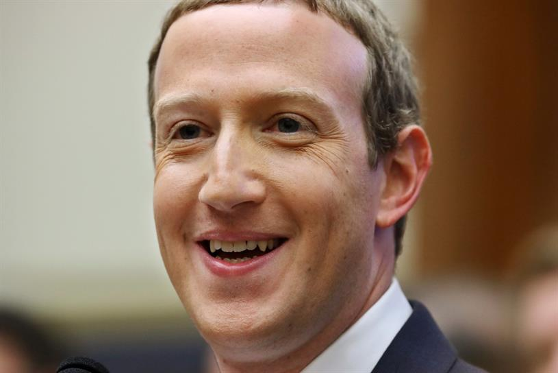 Zuckerberg: smile could be tempered if privacy changes by Apple affect Facebook's business (Photo: Chip Somodevilla/Getty Images)