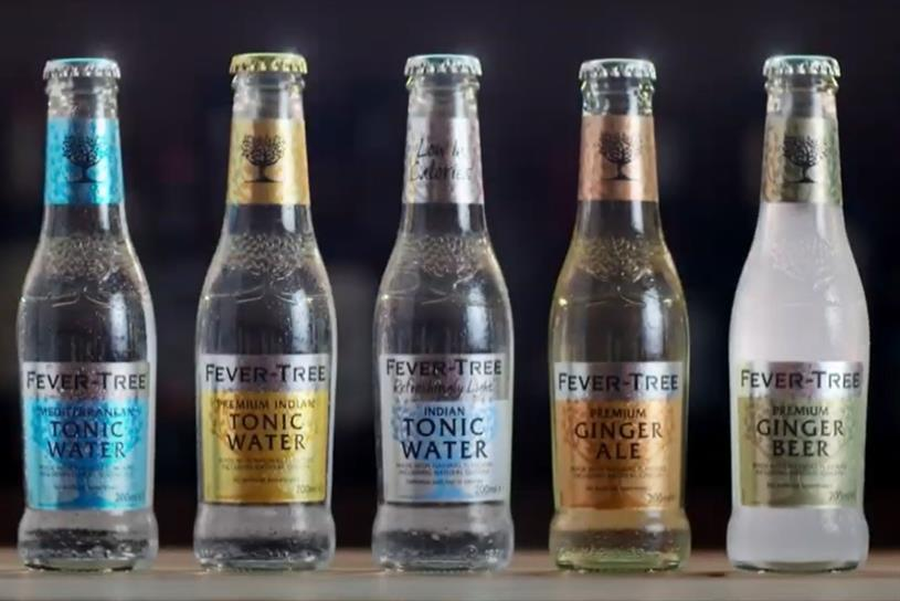 Fever-Tree: sales fell 3% in 2020
