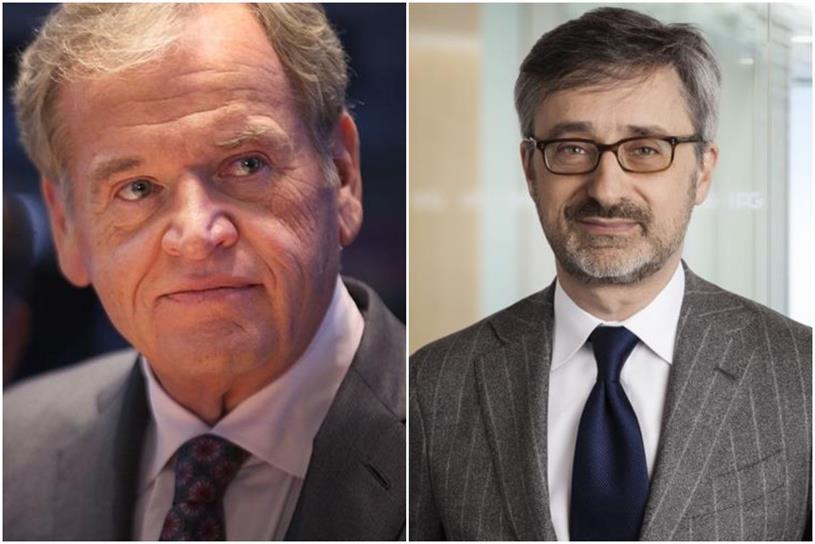 Omnicom and Interpublic: chief executives John Wren and Philippe Krakowsky