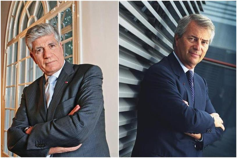 Publicis Groupe and Vivendi: Levy (left) and Bolloré