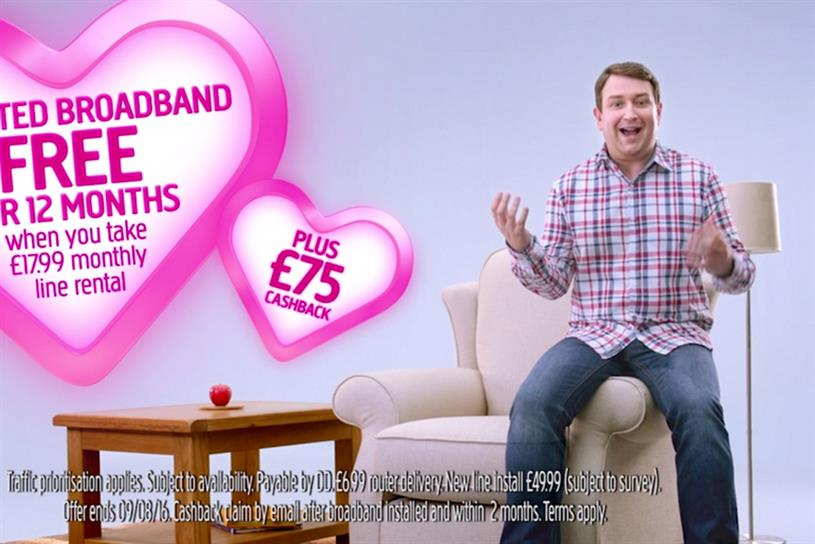 Plusnet: told off for talking too fast