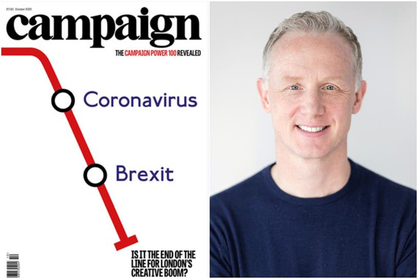 Campaign's October issue and this week's interview guest, Ben McOwen Wilson (YouTube UK MD)