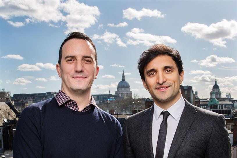 Jason Cartwright, CEO of Potato, and Ajaz Ahmed, the CEO of AKQA
