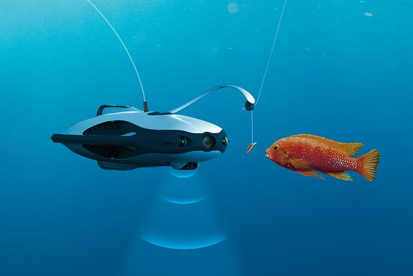 PowerRay: the underwater robot combines fish-detection with VR live-streamed video