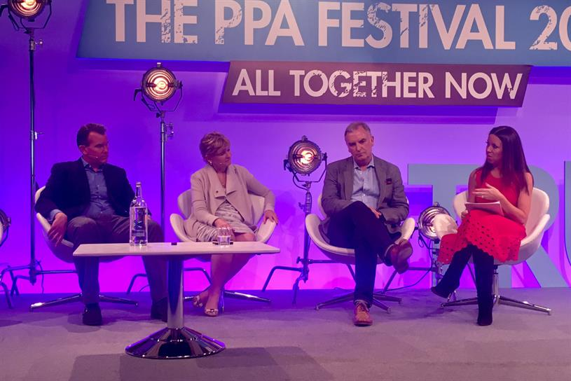 PPA Festival (L-R): Whitely, Barnes, Costello and Saxton