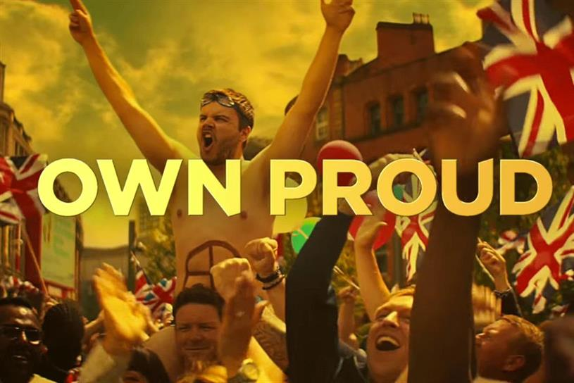 Strongbow: Adam & Eve/DDB created a campaign for the brand's Team GB sponsorship in Rio