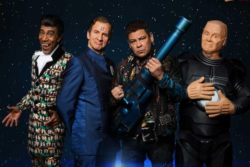 Red Dwarf: Sitcom featured on UKTV Play