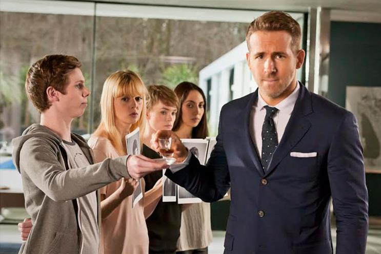 Ryan Reynolds: fronted campaign for BT's broadband that was later banned by the ASA
