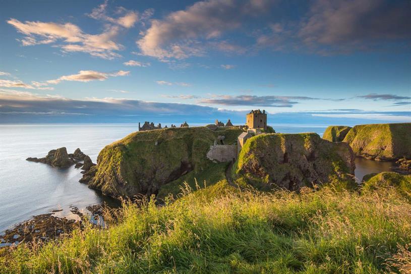 Scotland: Dunnottar Castle, near Stonehaven