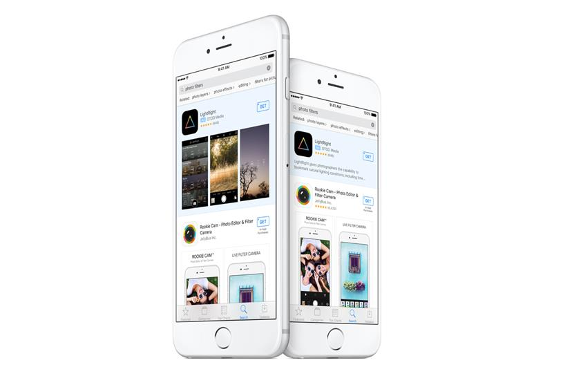 Apple: launching ads in search