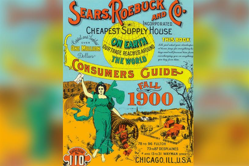 History Of Advertising No 184 A Sears Roebuck Catalogue Campaign Us
