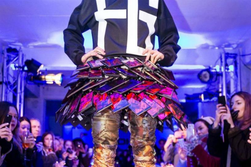 Microsoft's Smartskirt was made from working Nokia Lumia phones