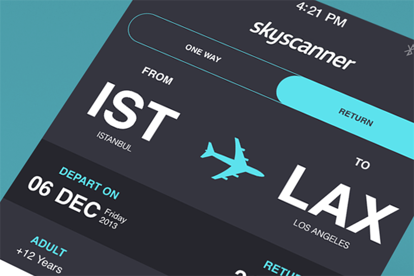 Skyscanner: acquired for £1.4bn